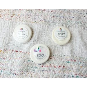 NEW Lot of 3 Beautyblender Solid Cleanser Soaps